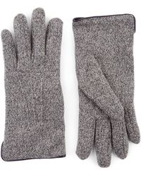 Jaeger - Mouline Knitted Gloves - Lyst