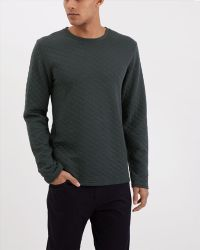 Jaeger - Quilted Cotton Sweatshirt - Lyst