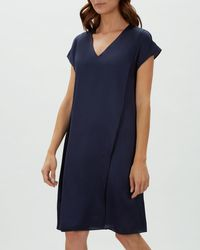 Jaeger - Double Layer Dress - Lyst