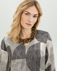Jaeger - Resin Short Knot Necklace - Lyst
