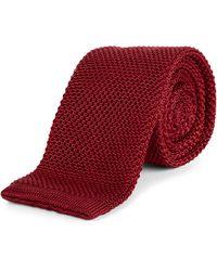 Jaeger - Silk Knitted Tie - Lyst