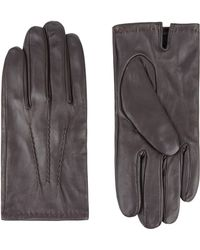 Jaeger | Leather Touchscreen Glove | Lyst