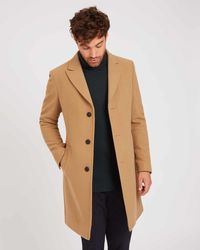 Jaeger - Wool Cashmere Blend Overcoat - Lyst