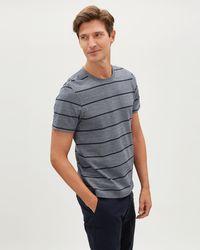 Jaeger - Yarn Dye T-shirt - Lyst