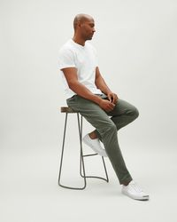Jaeger | Slim Fit Trouser W/ Piping At Pocket | Lyst
