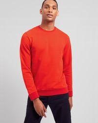 Jaeger - Contrast Sweatshirt - Lyst