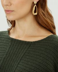 Jaeger - Wave Earring - Lyst