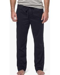 James Perse - Laundered Cotton Pajama Pant - Lyst