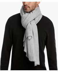 James Perse - Faliero Sarti Wool Silk Scarf - Lyst