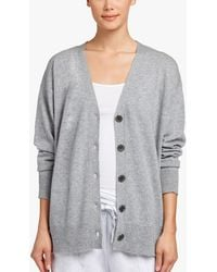 James Perse - Baby Cashmere Cardigan - Lyst