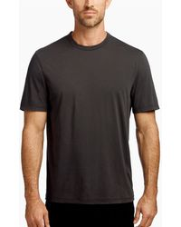James Perse - Luxe Lotus Jersey Crew - Lyst
