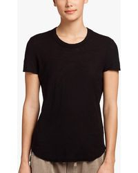 James Perse - Sheer Slub Crew Neck Tee - Lyst