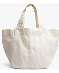 d8c18e15fb9d Michael Kors · James Perse - Loma Small Slouchy Canvas Tote - Lyst