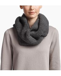 James Perse - Cashmere Fluffy Infinity Scarf - Lyst