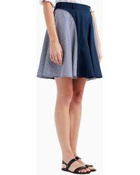 Jason Wu - Stripe Cotton Skirt - Lyst