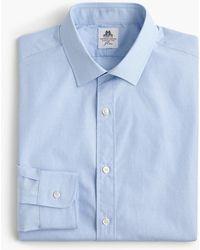 Thomas Mason - Ludlow Slim-fit Cotton Shirt In Dobby - Lyst