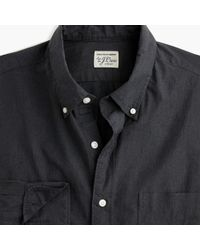 J.Crew - Slim Stretch Secret Wash Shirt In Solid Heathered Poplin - Lyst