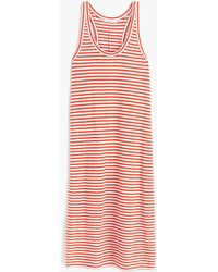 J.Crew - Racerback Tank Dress In Stripe - Lyst