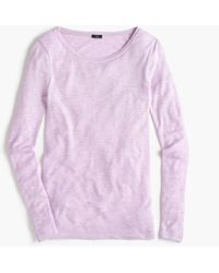 J.Crew - Supersoft Long-sleeve Shirt - Lyst