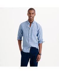 J.Crew - Tall Délavé Irish Linen Shirt - Lyst