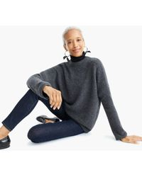 J.Crew - Point Sur Button-back Jumper In Waffled Supersoft Yarn - Lyst