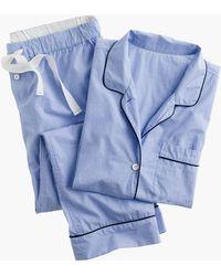 J.Crew - Vintage Short-sleeve Pajama Set - Lyst