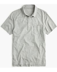 J.Crew - Mercantile Broken-in Pocket Polo Shirt - Lyst