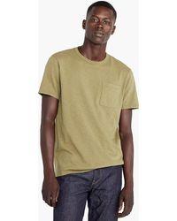 J.Crew - Tall Garment-dyed Slub Cotton Crewneck T-shirt - Lyst