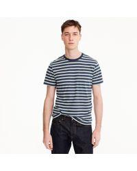 J.Crew - Tall Mercantile Broken-in T-shirt In Navy Stripe - Lyst
