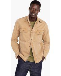 44683759f3b65 J.Crew Garrison Fatigue Jacket in Gray for Men - Lyst