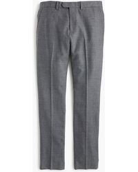 J.Crew - Bowery Slim-fit Pant In Stretch Wool - Lyst