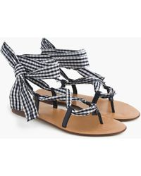 Wrap-around sandals in paisley free shipping good selling buy cheap for cheap the cheapest cheap price LibjSL0Ja