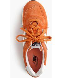 New Balance 1400 Trainers In Orange