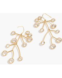 J.Crew - Root And Branch Earrings - Lyst