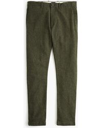 c37c6cceefe01b 770 Straight-fit Stretch Cargo Pant In Garment-dyed Herringbone. £80. J.Crew.  J.Crew - 484 Slim-fit Pant In Stretch Brushed Twill - Lyst