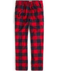 J.Crew - Flannel Pyjama Pant In Buffalo Check - Lyst