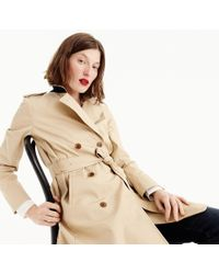 J.Crew - The Petite New Icon Trench Coat - Lyst