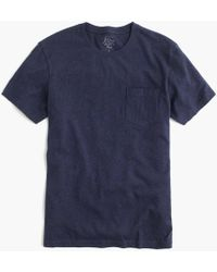 J.Crew - Slim Broken-in Pocket T-shirt - Lyst