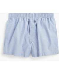 J.Crew - Stretch Solid Boxers - Lyst