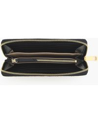J.Crew - Harper Continental Wallet In Italian Calf Hair - Lyst