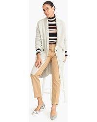 J.Crew - Double-breasted Cardigan Coat In Supersoft Yarn - Lyst
