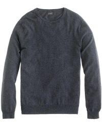 J.Crew - Cotton-cashmere Crewneck Sweater - Lyst