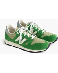 J.Crew - New Balance 520 Sneakers In Hairy Suede - Lyst