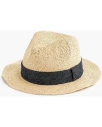 J.Crew - Packable Panama Hat - Lyst