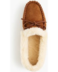 J.Crew - Women's Lodge Moccasins - Lyst