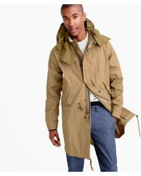 J.Crew - Wallace & Barnes Fishtail Parka With Wire Hood - Lyst