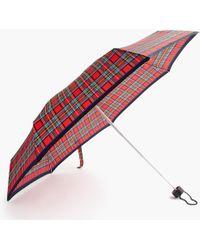 J.Crew - Mini Pocket Umbrella In Stripe - Lyst