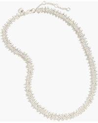J.Crew - Beaded Necklace - Lyst