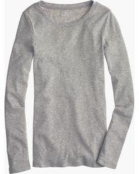J.Crew - Slim Perfect Long-sleeve T-shirt - Lyst