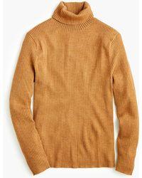 J.Crew - Destination Merino Wool Turtleneck Sweater - Lyst